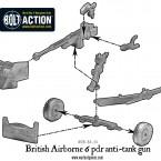 British Airborne 6 pdr anti-tank gun