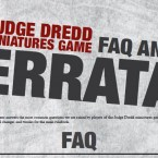 Rules: Judge Dredd FAQ and Errata