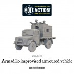 New: Armadillo improvised armoured vehicle