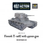 New: Finnish T-26E light tank