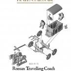 Roman Travelling Coach – Construction Diagram