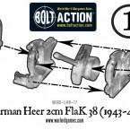 German Heer 2cm Flak 38 – Construction Diagram