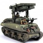 Hobby: Sherman with Calliope Rocket Launcher