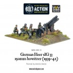New: German Heer sIG 33 150mm howitzer (1939-42)