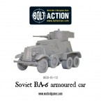 New: BA-6 Armoured Car