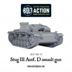 New: Stug III ausf D assault gun