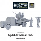 New: Opel Blitz with 2cm FlaK and Ammunition Trailer