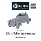 New: Kfz 13 'Adler' armoured car
