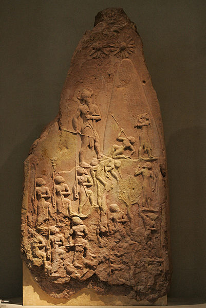 401px-Victory_stele_of_Naram_Sin_9068
