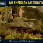 New: Plastic M4 Sherman Medium Tank