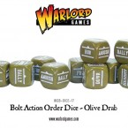 New: Olive Drab and Sand coloured Order Dice