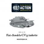 New: Fiat-Ansaldo CV33 & Lanciaflamme tankettes
