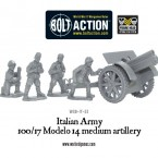 New: Italian Army 100/17 Modello 14 medium artillery