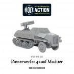 New: Panzerwerfer 42 auf Maultier