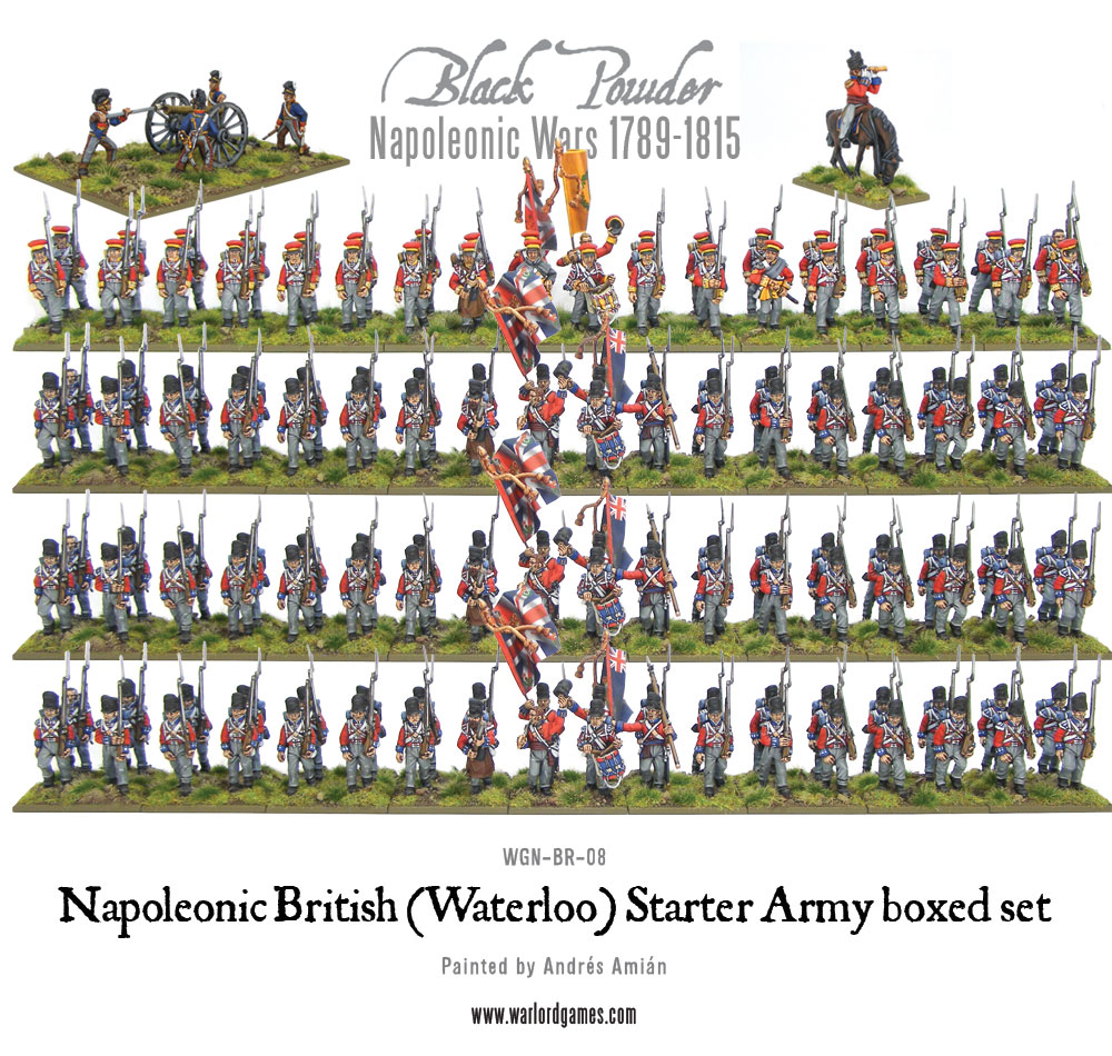 WGN-BR-08 Waterloo British starter army