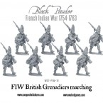 New: French Indian War British Grenadiers