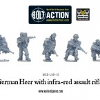 New: German Heer with infra-red assault rifles