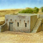 New: Mud-Brick House plastic kit