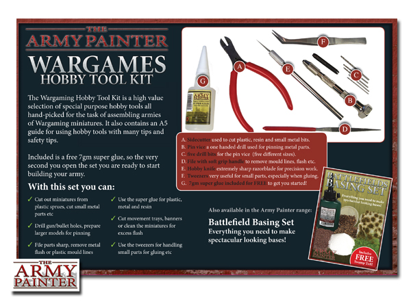 New Wargames Hobby Tool Kit Warlord Games