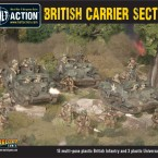 New: British Carrier Section plastic boxed set