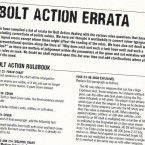 Rules: Bolt Action FAQ update
