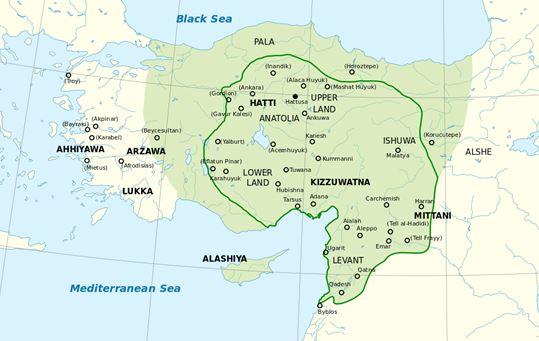 hittite-map
