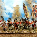 Showcase: Waterloo British Infantry by Francesco Thau