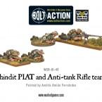 New: Chindit PIAT and Anti-tank Rifle teams