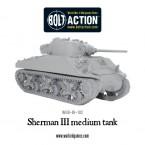 New: Sherman III medium tank