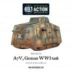 New: A7V, WWI German tank
