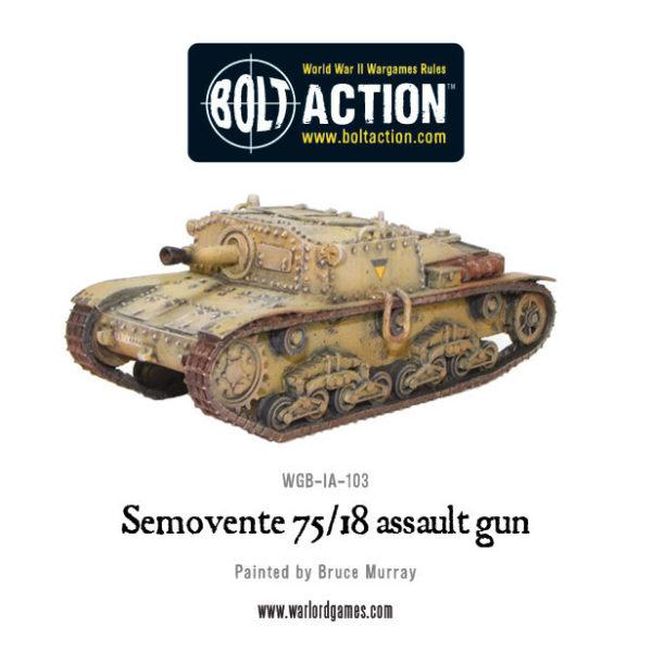 Semovente 75/18 Assault Gun