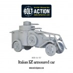New: Italian armoured cars