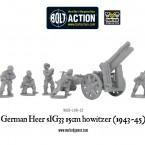 New: German Heer sIG33 15cm howitzer (1934-45)