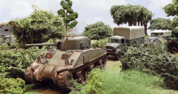 Brit Sherman Convoy