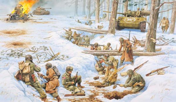 Bulge Bastogne
