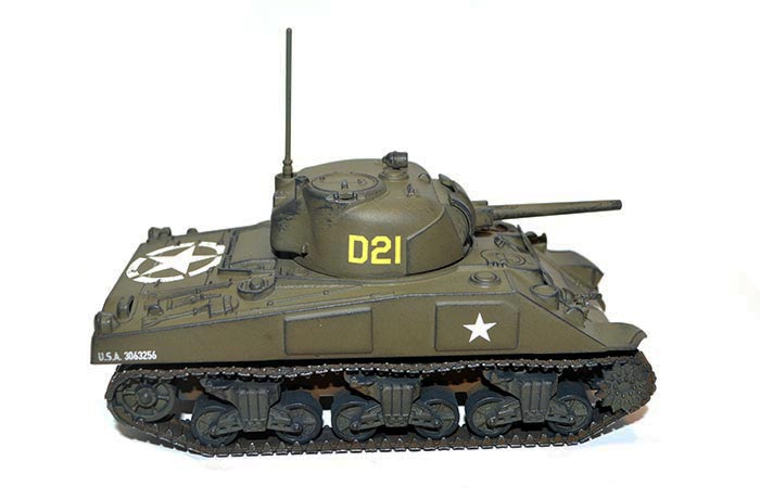 Painting Guide - M4 Sherman - Warlord Games