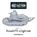 New: Renault FT-17 light tank