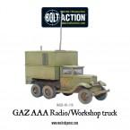 New: GAZ AAA Radio/Workshop truck