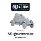 New: Soviet FAI light armoured car
