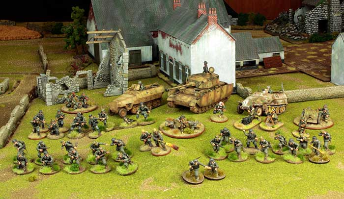 bolt action battle report warlord games