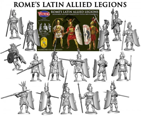 New: Plastic Romans from Victrix - Warlord Games