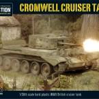 New: Plastic Cromwell Cruiser Tank