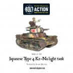 New: Japanese Type 4 Ke-Nu light tank