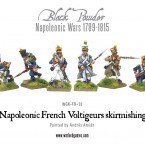 New: Napoleonic French Voltigeurs and British Casualties