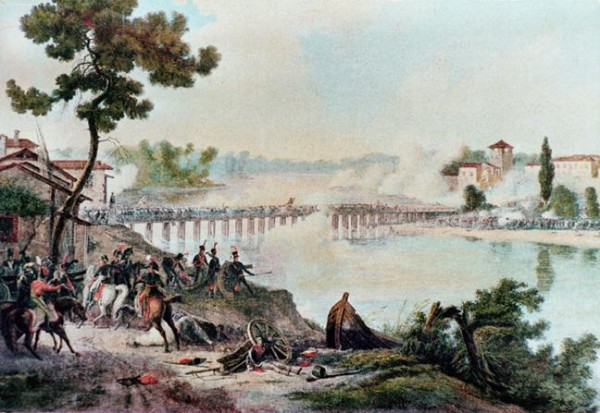 Battle of the Bridge at Lodi