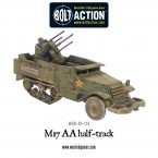New: Soviet M17 AA Halftrack