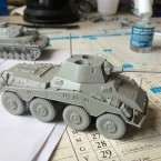 Preview: Plastic Puma armoured car and Tiger I tank