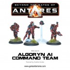 New: Algoryn command team, Mag Light Support and Infiltration Team