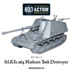 New: Sd.Kfz 164 Nashorn tank destroyer
