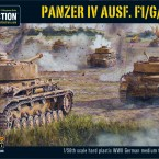 New: Plastic Panzer IV Ausf.F1/G/H